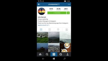 Instagram Beta en Windows 10 Mobile: así es su nueva actualización