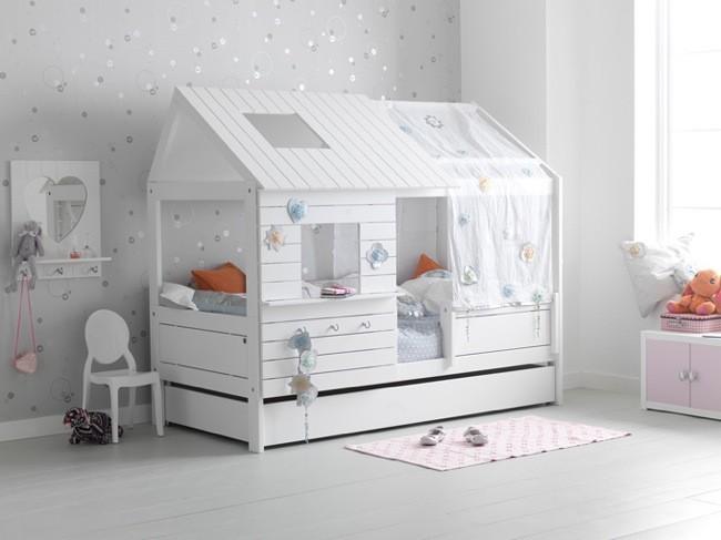 Camas que ahorran espacio y crean ambiente en dormitorios - Camas divertidas infantiles ...
