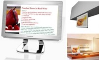 Pandigital Kitchen, televisor, recetario y marco de fotos en uno