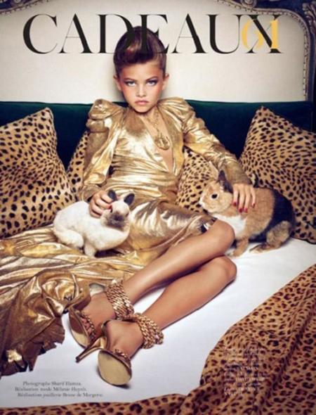Thylane Rose Blondeau portada Vogue Cadeaux