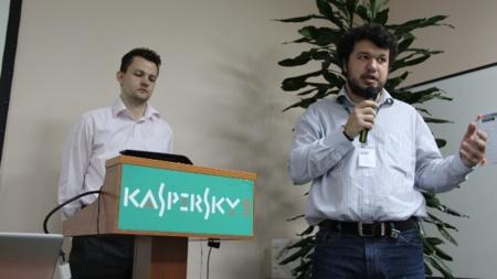 kaspersky charla oficinas moscú