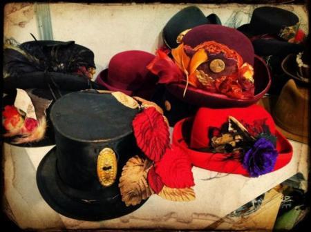 Second Chance, sombreros artesanales llenos de ingenio