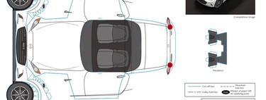 Manualidades con aire nipón: Lexus y Mazda nos traen origamis y recortables para pasar el confinamiento
