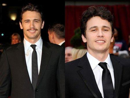 James Franco: ¿bigote sí o bigote no?