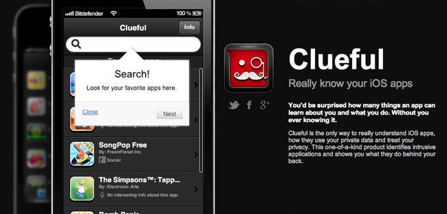 Clueful WebApp