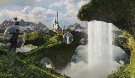 Una escena de OZ: Un Mundo de Fantasía, la película de Sam Raimi