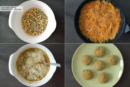 Albóndigas Vegetarianas Comprometidas. Pasos