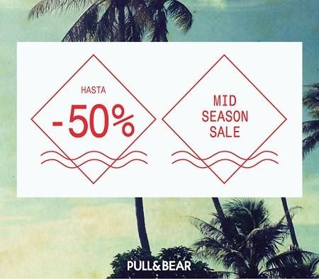 Pull&Bear vuelve con las 'Mid Season Sale', y también celebran el 'Día del Padre'
