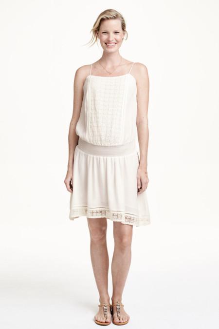 Vestido Premama Blanco Hym