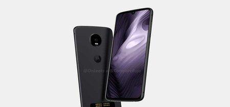Moto Z4 Play: el próximo gama media-alta de Motorola llegaría con notch de gota y aún con soporte para Moto Mods