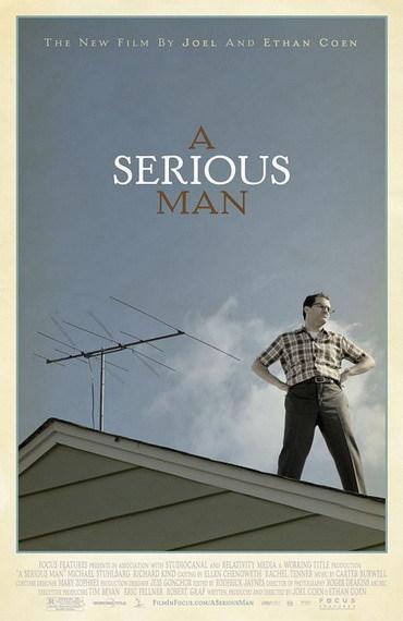 'A Serious Man' de los Coen, cartel
