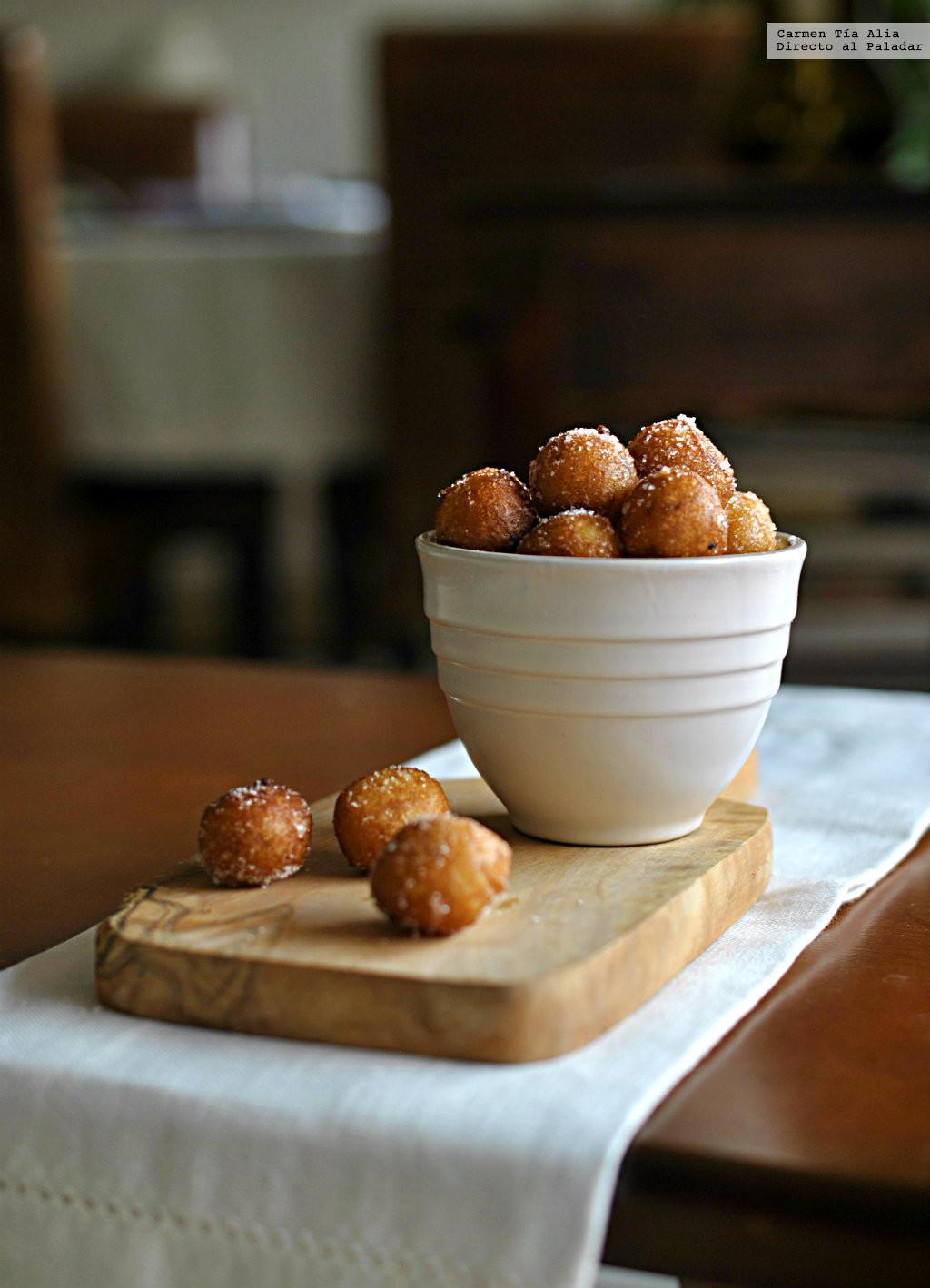 Buñuelos de cuaresma y Semana Santa: receta tradicional