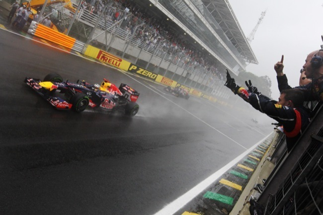 Sebastian Vettel tricampeón