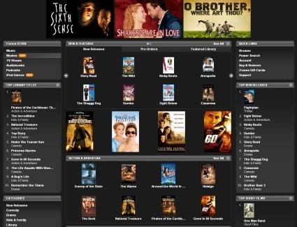 Apple lanzará las películas en iTunes el mismo día que su lanzamiento en DVD
