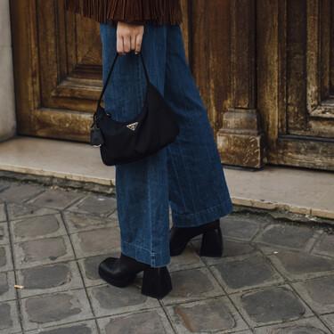 Estilo Cowboy, clásicos o acolchados..los botines negros con tacón que podemos llevar desde ya con todo nuestro armario