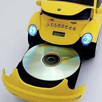 Reproductor de musica del Escarabajo de VW