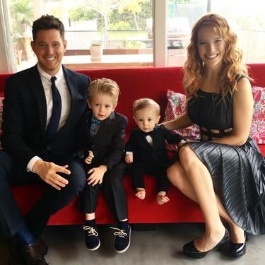 Malísimas noticias en casa de Michael Bublé y Luisana Lopilato