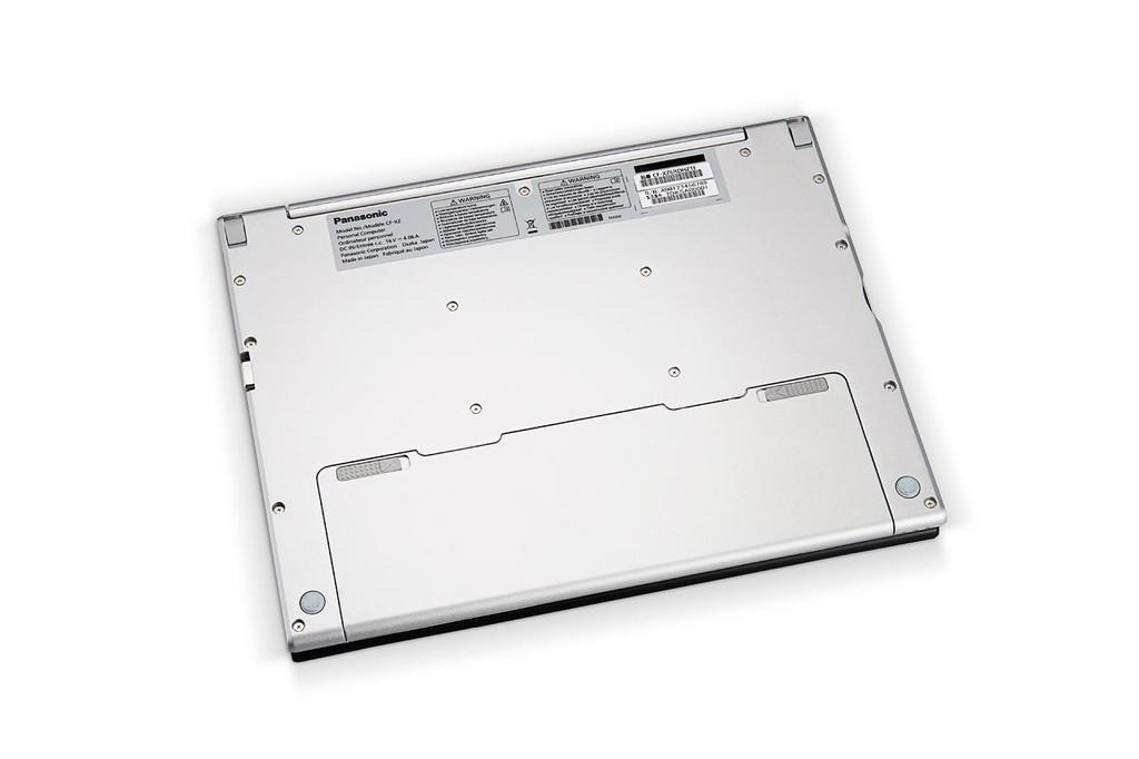 Panasonic Toughbook Cf Xz26 Vista Abajo