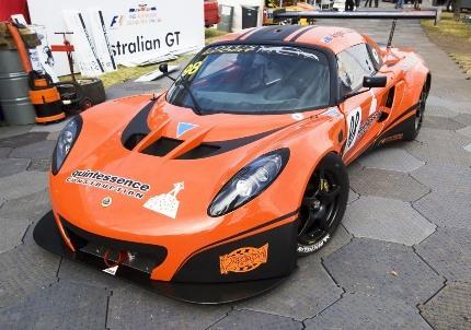 El debut del Lotus Exige GT3