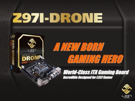 ECS apuesta por diseños mini-ITX con motherboards Z97I-DRONE y H97I-DRONE