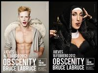 Bruce Labruce, famosos posando para Obscenity