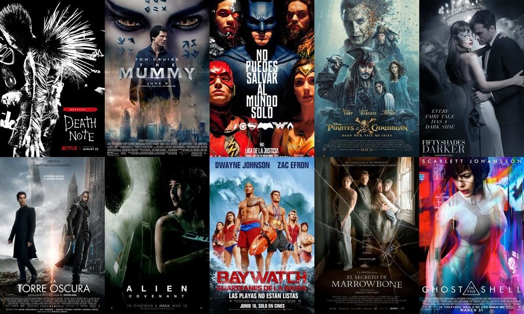 Las peores películas de 2017