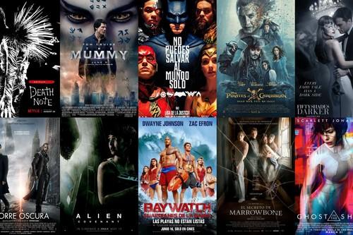 Las 18 peores películas de 2017
