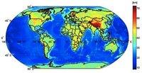 Primer mapa mundial de los límites entre corteza y manto terrestre