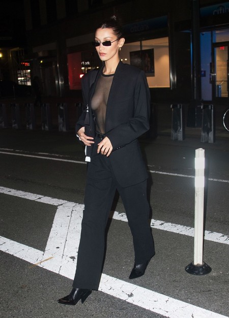 Bella Hadid Wears Mango Boots In Ny Rights From 08112018 Pr Sm Ww
