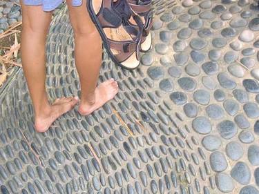 Masaje con piedras