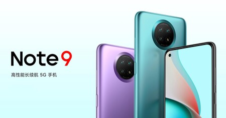 Xiaomi Redmi Note 9 4G, Redmi Note 9 5G y Redmi Note 9 Pro 5G, la saturada gama media se renueva en China con 5G y precio bajo