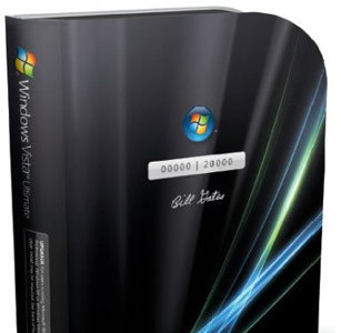 Microsoft Windows Vista Ultimate firmado por Bill Gates