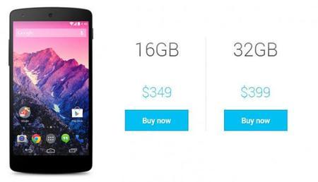 Quiero un Nexus 5, te decimos cómo comprarlo desde los EUA