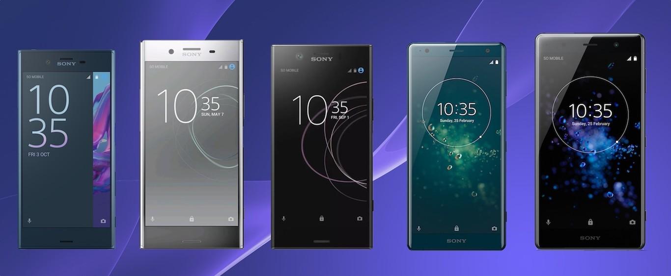 Del Xperia XZ al Xperia XZ2 Premium: así ha evolucionado la super gama alta de Sony