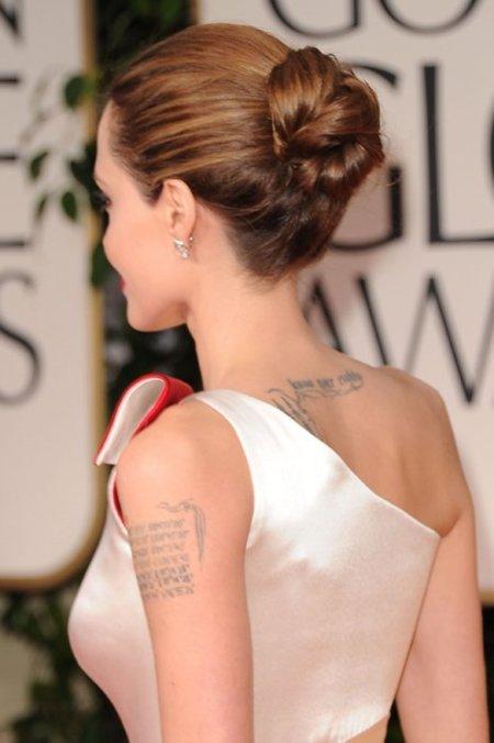Jolie Globos de Oro 2012