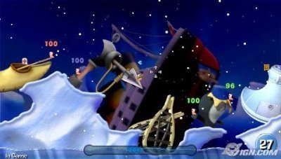 worms psp