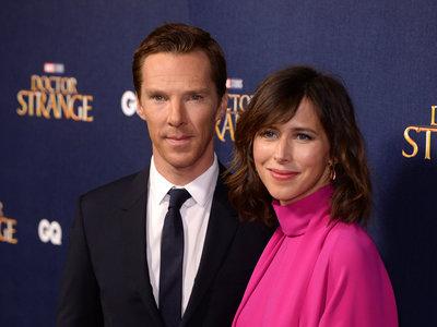 Y también Benedict Cumberbatch ha sido padre de nuevo