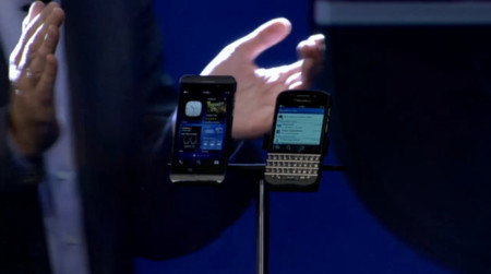 BlackBerry, antigua RIM, presenta los nuevos BlackBerry Z10 y BlackBerry Q10