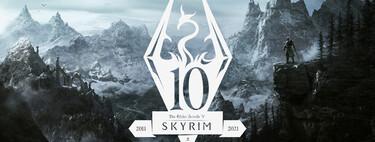 Skyrim tiene una nueva edición: Bethesda lo ha vuelto a hacer, esta vez por el décimo aniversario