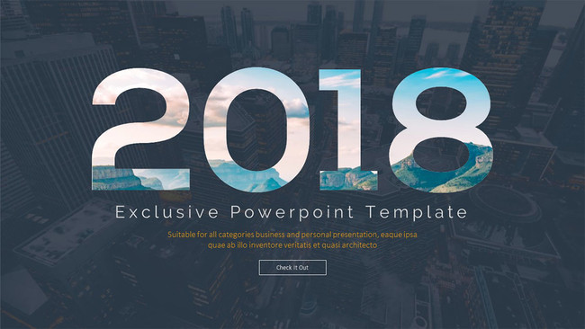 Exclusive Free Powerpoint Template Slide 01