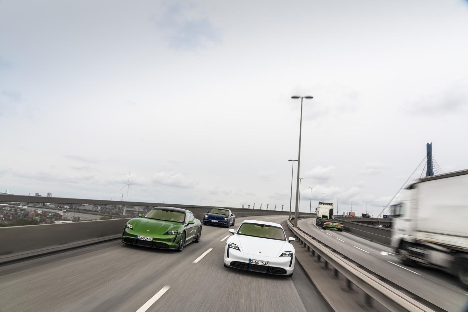 Foto de Porsche Taycan prueba contacto (129/275)