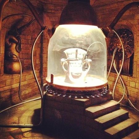 La sala de la máquina del tiempo... en 10 cm