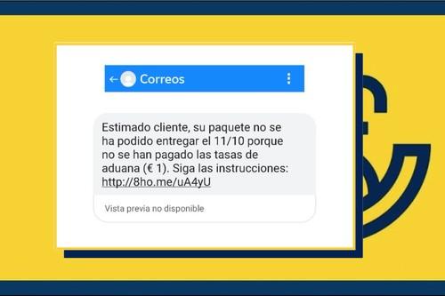 Parece un SMS de Correos pero es un ingenioso ataque de phishing: así funciona el 'SMS spoofing' para falsificar el remitente