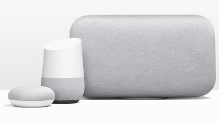 Google Home Max y Google Home Mini