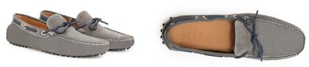 driving shoes grises