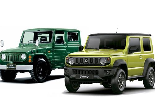 La evolución del Suzuki Jimny: del sencillo biplaza 4x4 al todoterreno retrofuturista