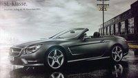 Primeras imágenes filtradas del nuevo Mercedes-Benz SL