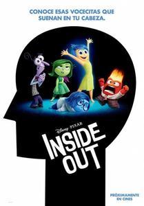Presentamos el cartel de Inside Out la nueva película de Pixar para el 2015