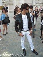 El look de Baptiste Giabiconi en París