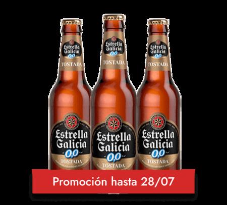 Estrella Galicia 00 Tostada Botellin 25cl